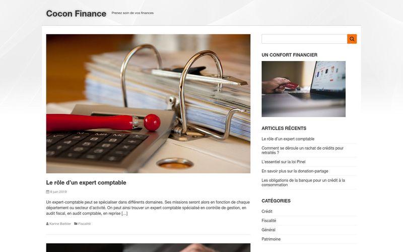Cocon Finance - Prenez soin de vos finances