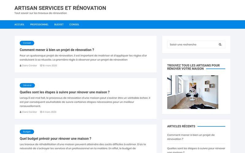 Artisan services et rénovation - Tout savoir sur les travaux de rénovation